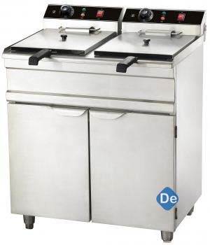 Double Deep Fat Fryer with Oven (Gas/Electric)