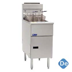 Stainless Steel Floor Fryer