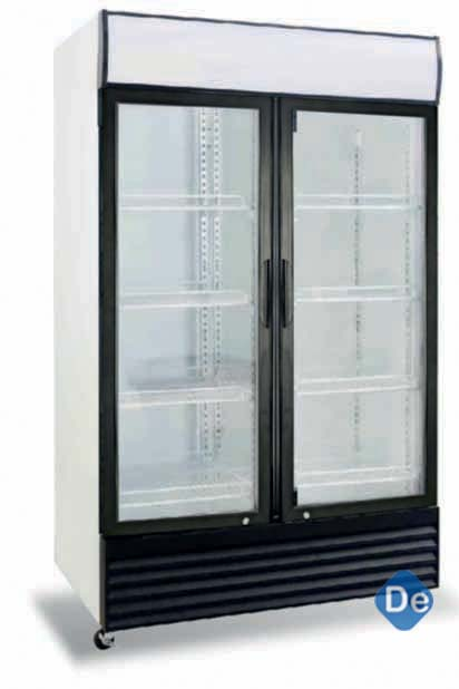 Two Door Glass Chiller